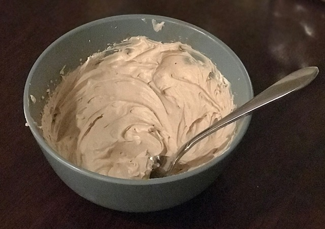 """Chocolate Fluff"" from Keto Connect"