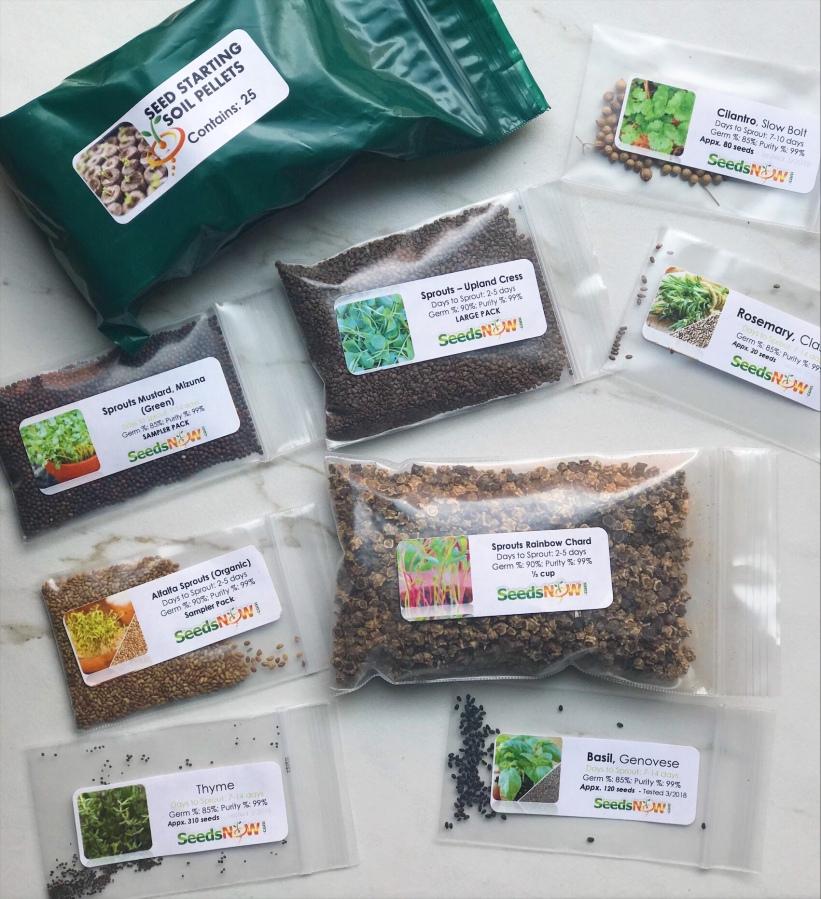 Organic Gardening: NewSeeds!