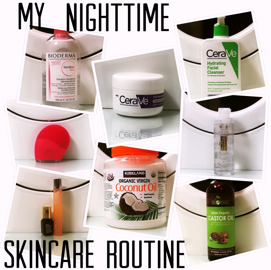 My Current Nighttime Skincare Routine