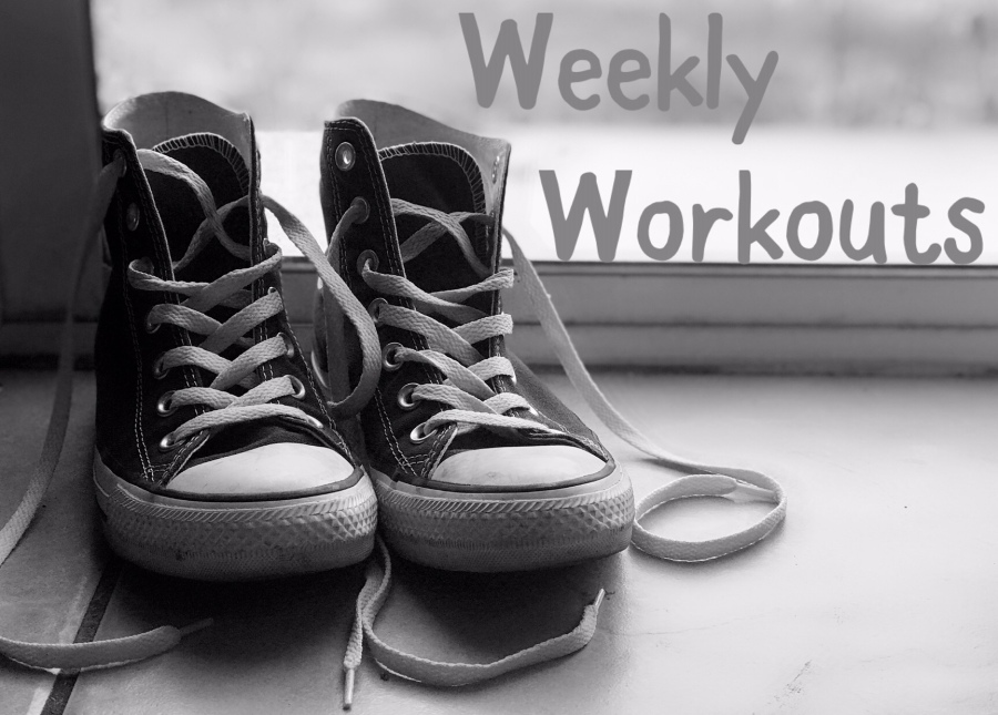 Weekly Workouts Recap