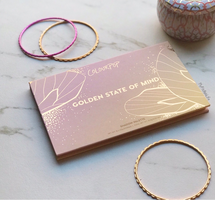 Golden State of Mind by Colourpop PaletteReview