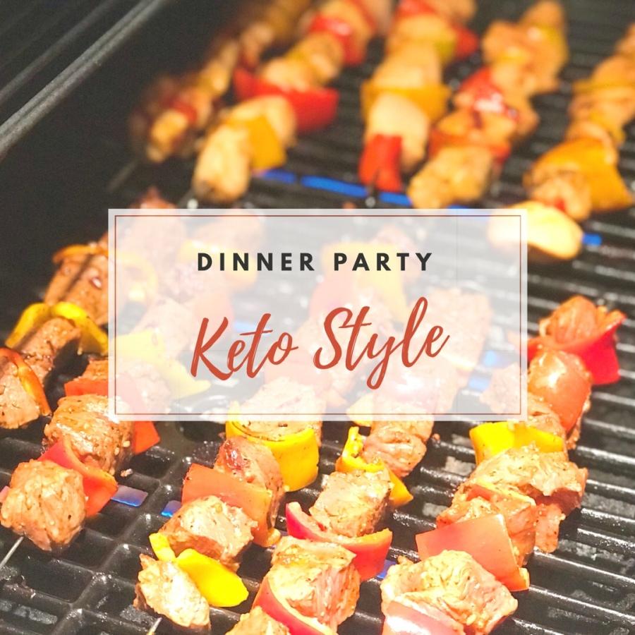 Keto Dinner Party