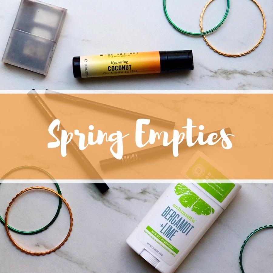 Spring Empties