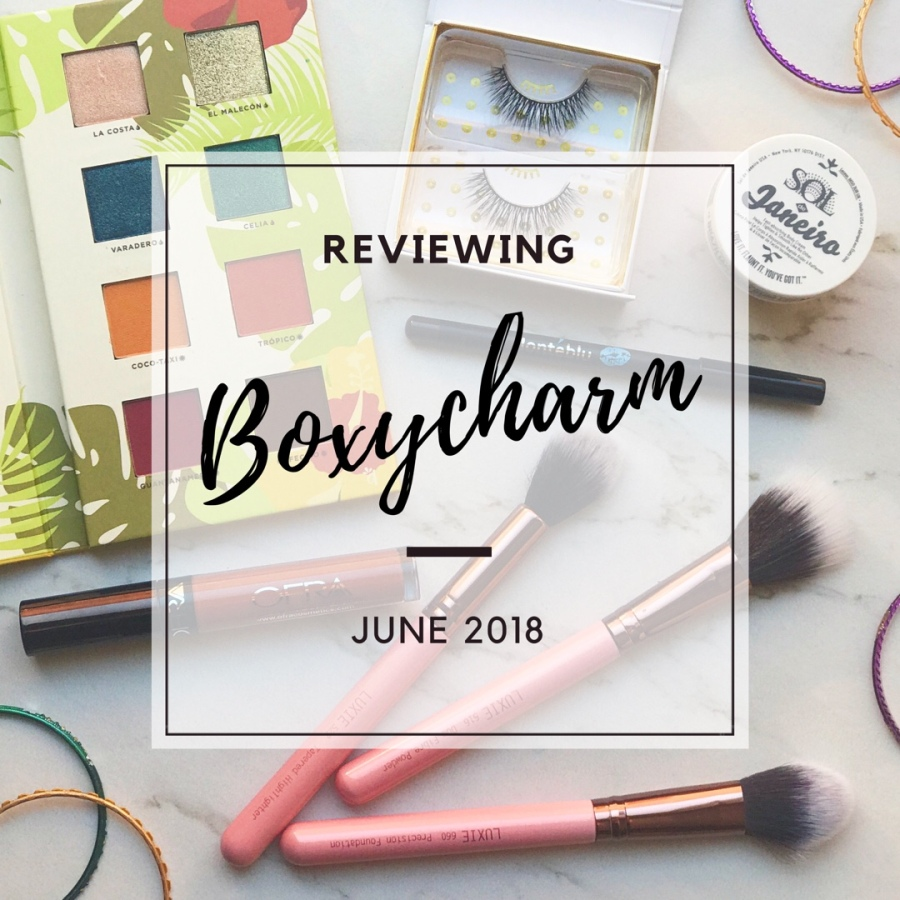 Boxycharm June 2018 Review