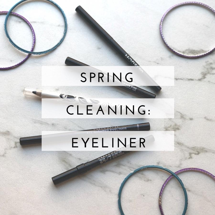 Spring Cleaning: Eyeliner