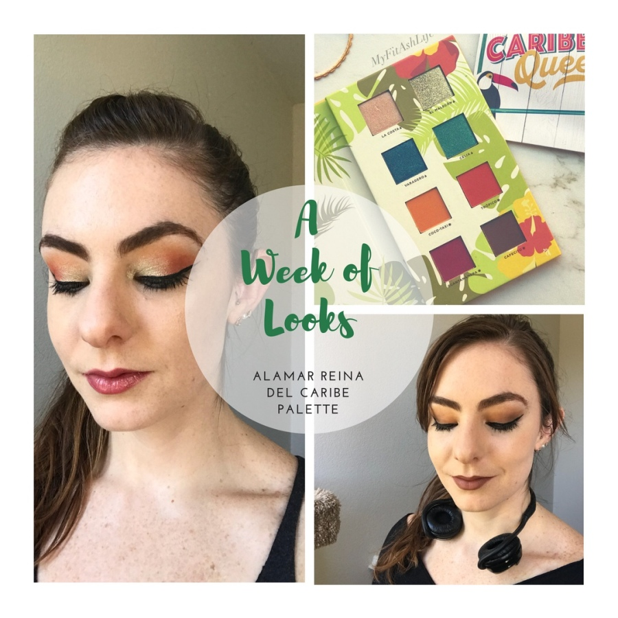 One Week of Looks: Alamar Reina Del Caribe Palette