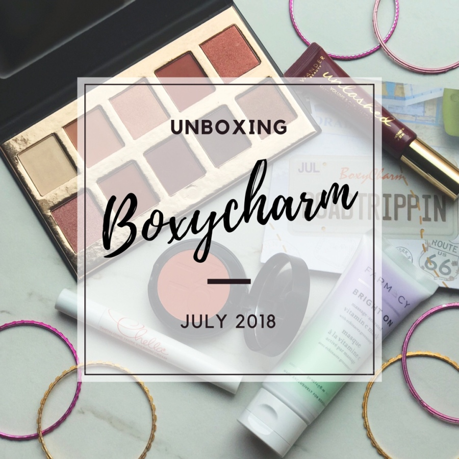 Unboxing: Boxycharm July 2018