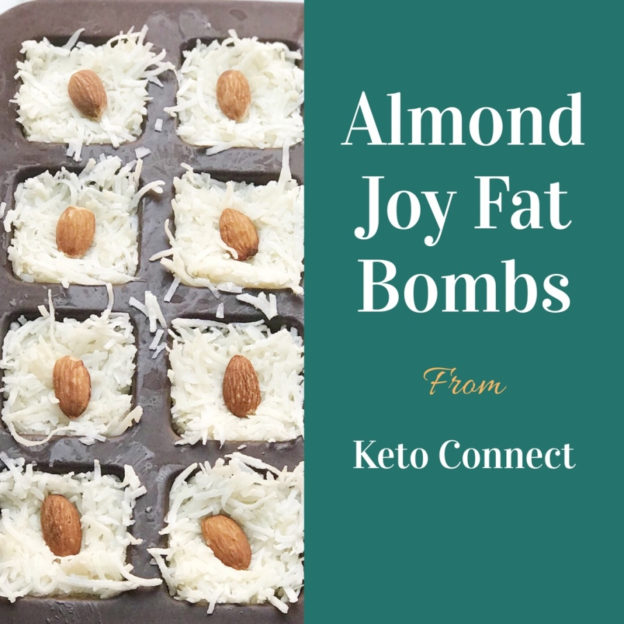 Almond Joy Fat Bombs from Keto Connect