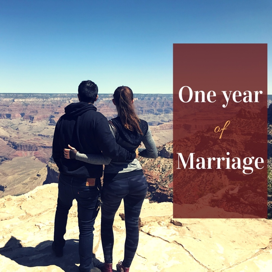 Reflecting On One Year Of Marriage