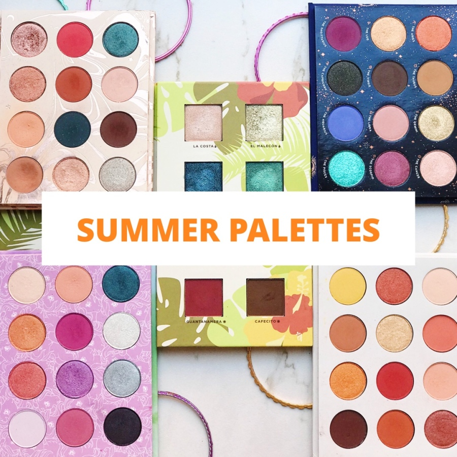 My Favorite Summer Eyeshadow Palettes