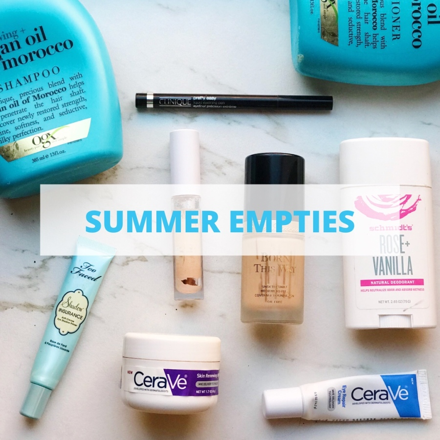 Summer Empties