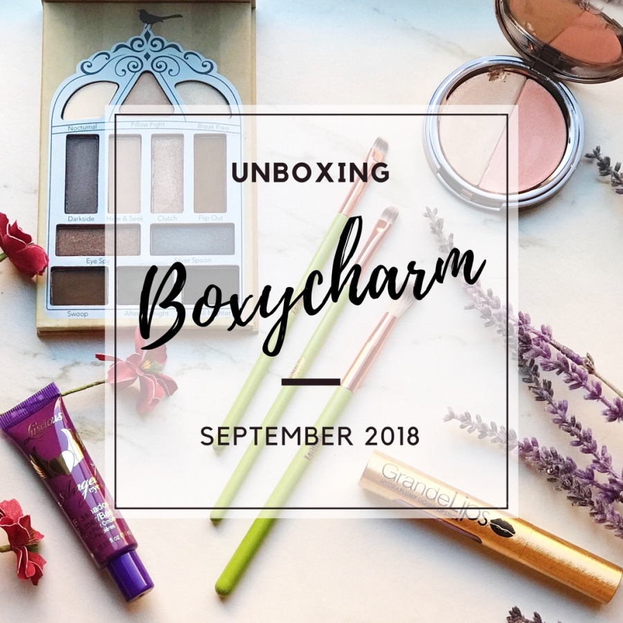 Unboxing: Boxycharm September 2018