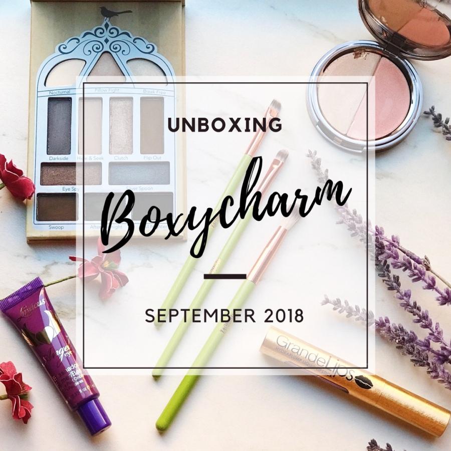 Unboxing: Boxycharm September2018
