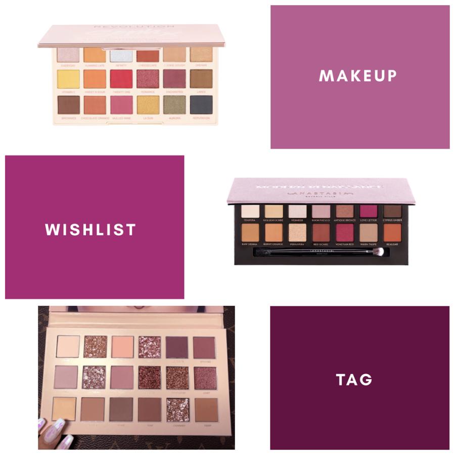 The Makeup WishlistTAG